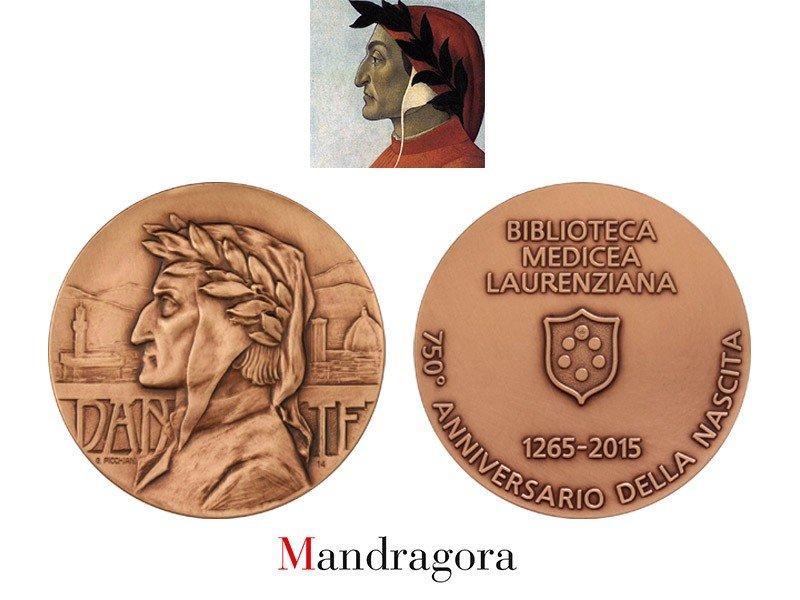 medaglia biblioteca laurentiana